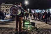 Nächtliches Stadtfest