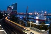 Nacht Hafen