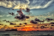 Ibiza - Sonnenuntergang Cala D'Hort
