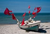 Christian Maisenbacher - Boot mit Fahnen