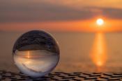 Sonnenuntergang in der Kugel
